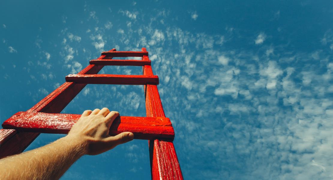 Ladder towards the sky